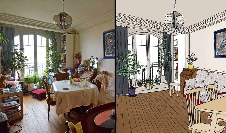 d sencombrer conseils pour faire le tri appartement avant apr s rangement. Black Bedroom Furniture Sets. Home Design Ideas