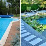 La piscine au chlore transformée en baignade naturelle.