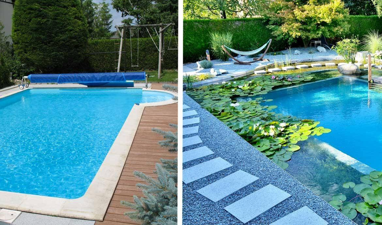 Baignade naturelle transformer une piscine classique en - Peut on se baigner dans une piscine trouble ...