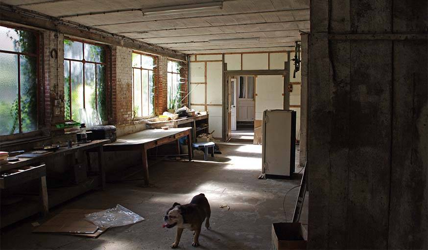 La salle avant les travaux.