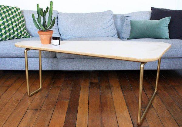 Une Table Basse Design Pas Cher En Un Coup De Peinture