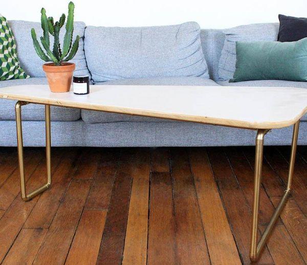 DIY Relooking : Un style épuré pour cette table basse