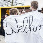 manifestation de solidarité avec les réfugiés