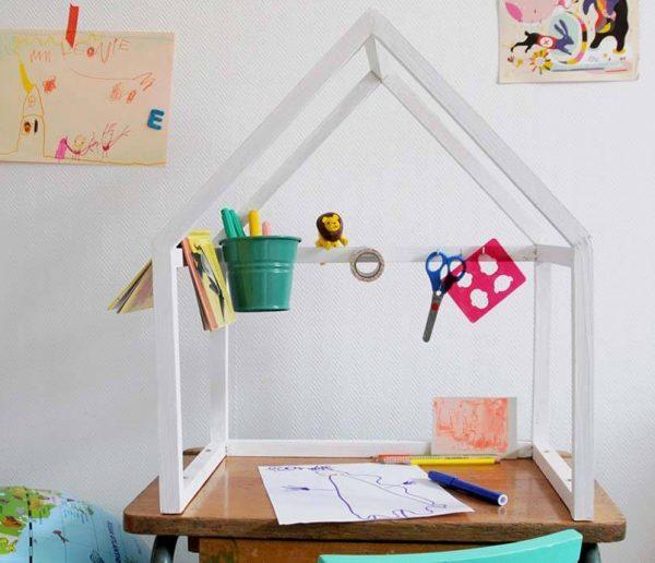 DIY : une cabane pour faire ses devoirs