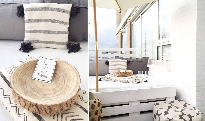 Aménager Son Balcon Avec Des Palettes balcon : 5 idées déco repérées sur pinterest - décorer son