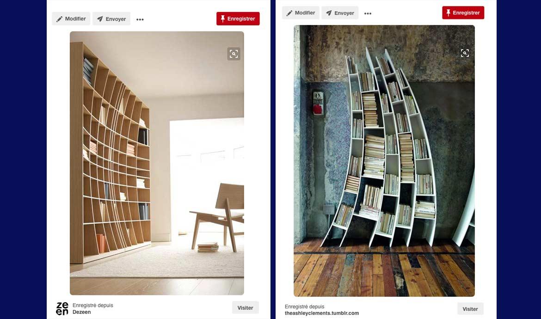 Meuble En Palette Diy Pour Fabriquer Une Biblioth Que Belle Et  # Construire Une Bibliotheque Design