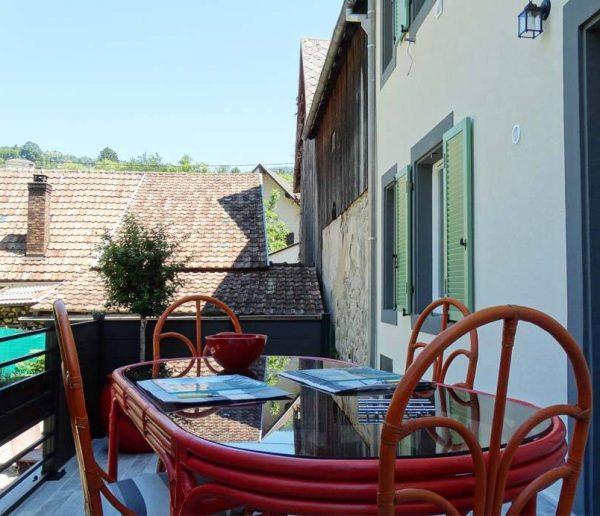 Avant / Après : nouvelle terrasse pour cette maison alsacienne classée