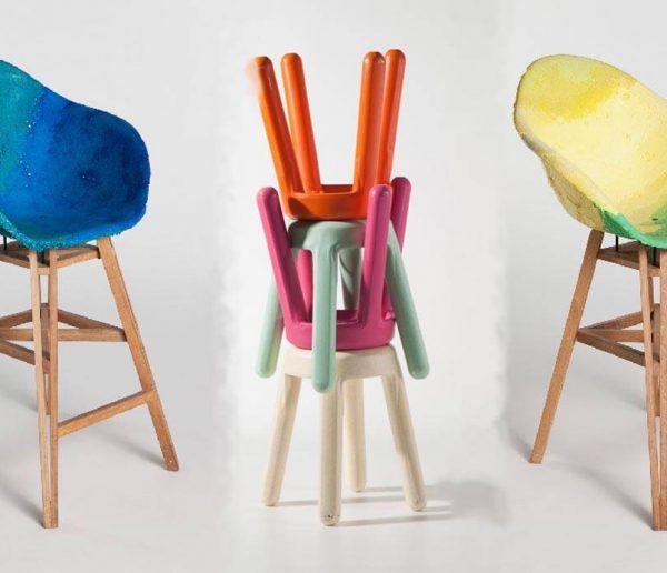 Ils fabriquent des meubles design à partir de déchets