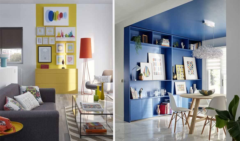 Quel Mur Peindre En Couleur Salon conseils peinture pour agrandir une pièce - clair ou foncé