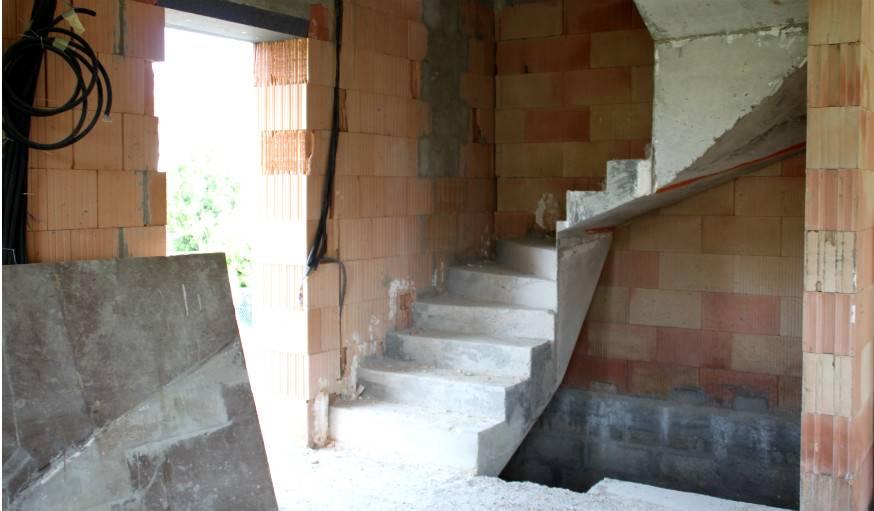 Les plans de la maison ont été dessinés par Martin et sa famille.