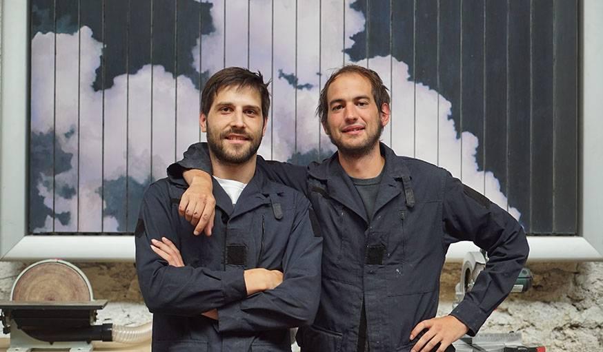 Romée et Armand, deux des cofondateurs de Maximum.