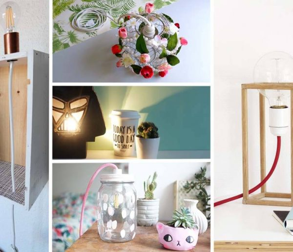 Un défi, cinq blogueuses, cinq lampes