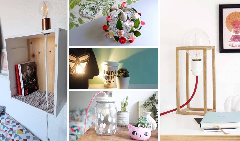 Monter Une Lampe De Chevet bricolage facile : lampes diy - 5 tutoriels : lampes à