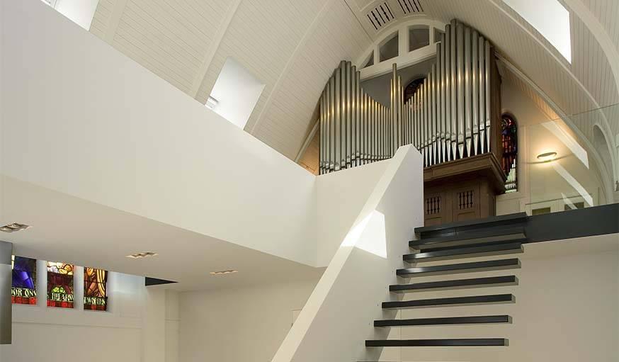 L'orgue a été conservé