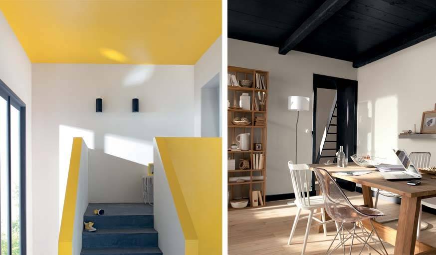 conseils peinture pour agrandir une pi ce clair ou fonc jouer sur les volumes. Black Bedroom Furniture Sets. Home Design Ideas