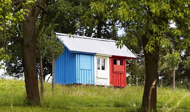 """""""France"""" : la tiny house tricolore qui se construit en 3 heures"""