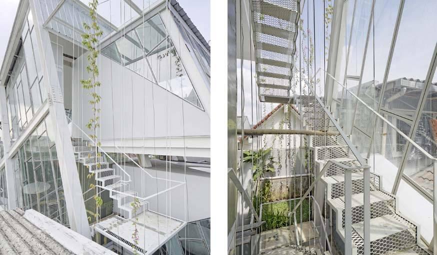 Des escaliers d'une simplicité assumée