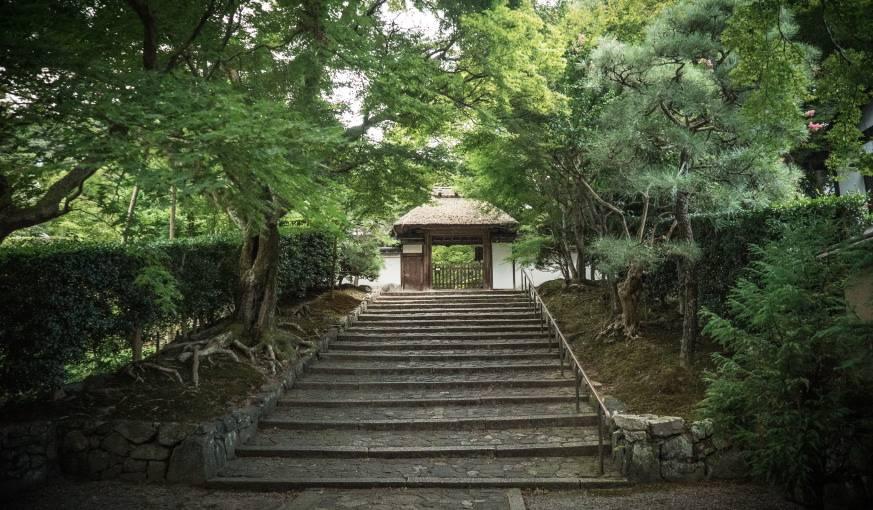 L'entrée du jardin d'Azumi San.