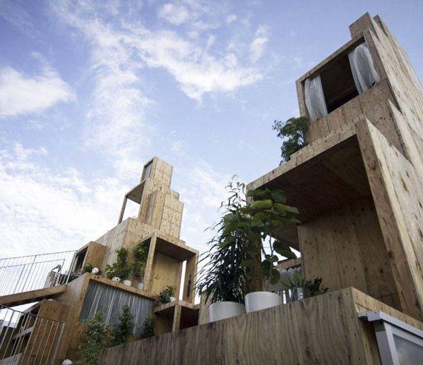 En bois et cogénérationnelle, découvrez la maison de demain vue du Japon