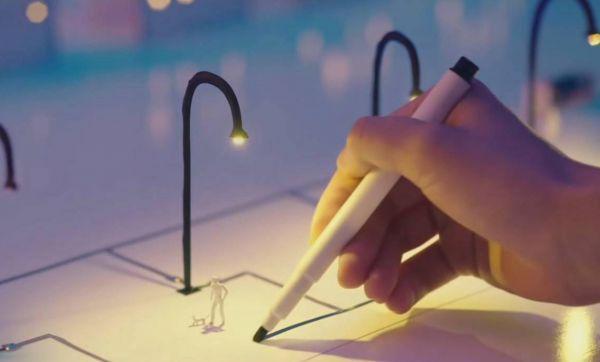 Un stylo pour dessiner des circuits imprimés