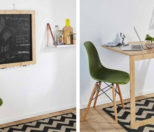DIY : Cette table d'appoint escamotable se transforme en tableau