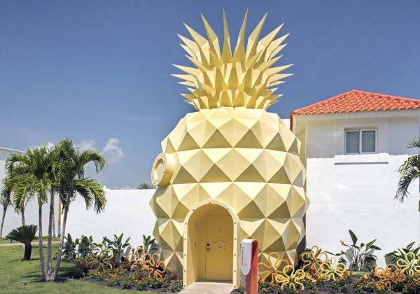 Ananas Bob L Éponge bob l'éponge : dormez dans sa maison en forme d'ananas - déco ananas