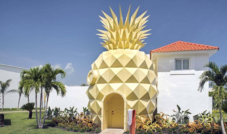 Jusqu'au bout de la tendance : la maison ananas !