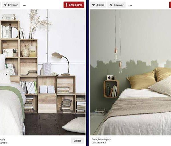 tete de lit tuto full size of led chambres tutoriel comment tablette peint diy lambris bois. Black Bedroom Furniture Sets. Home Design Ideas