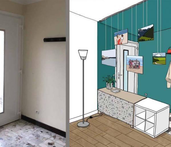 Aménager Une Entrée Ouverte Sur Le Salon Sans Cloisonner - Créer Une