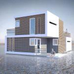 Un cabinet d'architecte imagine une maison qui se sépare en deux en cas de divorce.