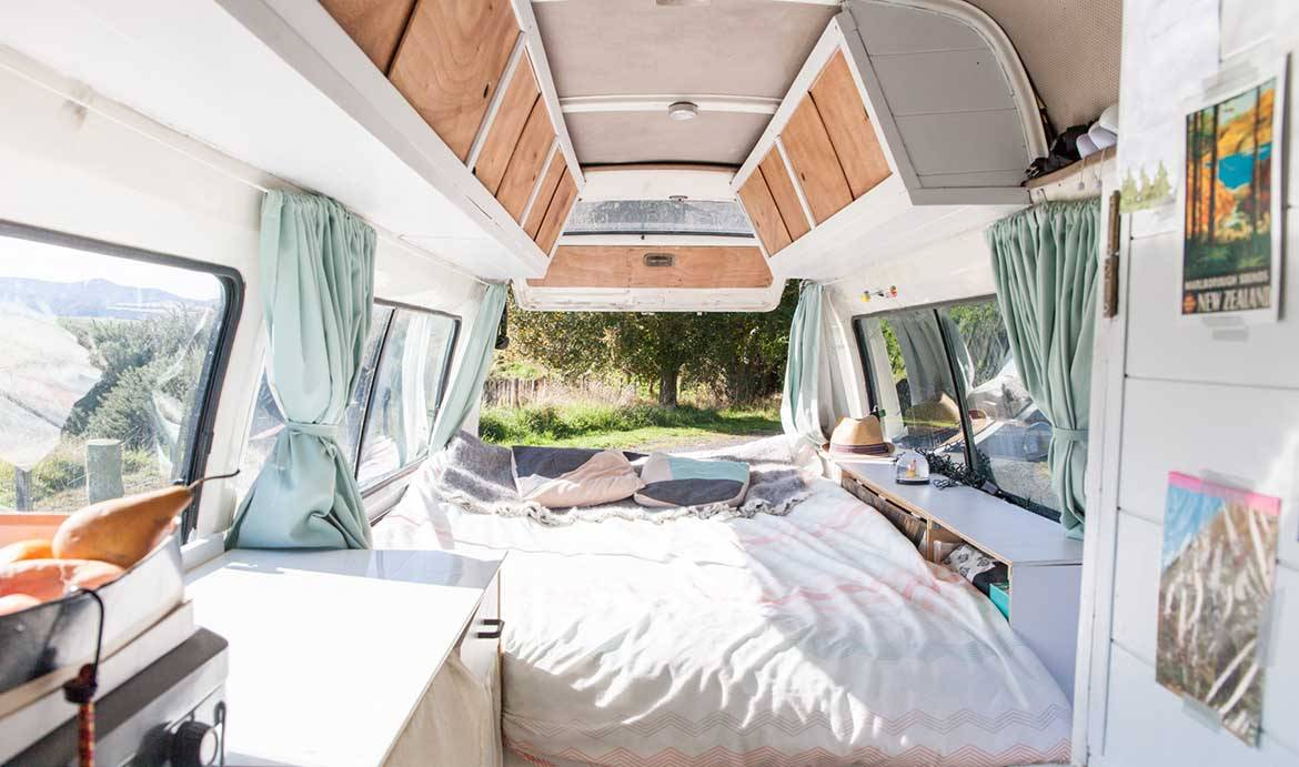 Un van de rêve pour traverser la Nouvelle-Zélande
