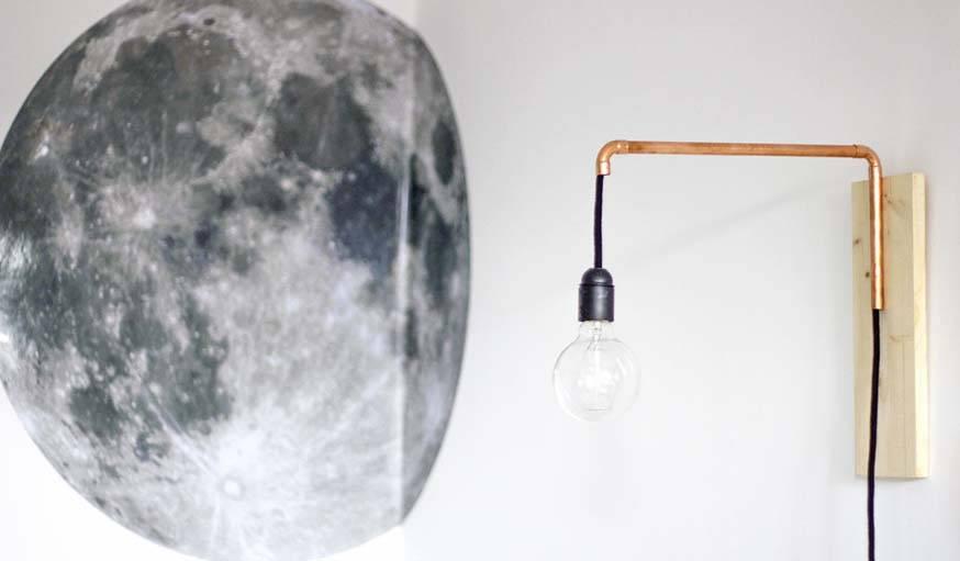 Suspensions Et Luminaires 9 Diy Faciles Pour Fabriquer Une Lampe