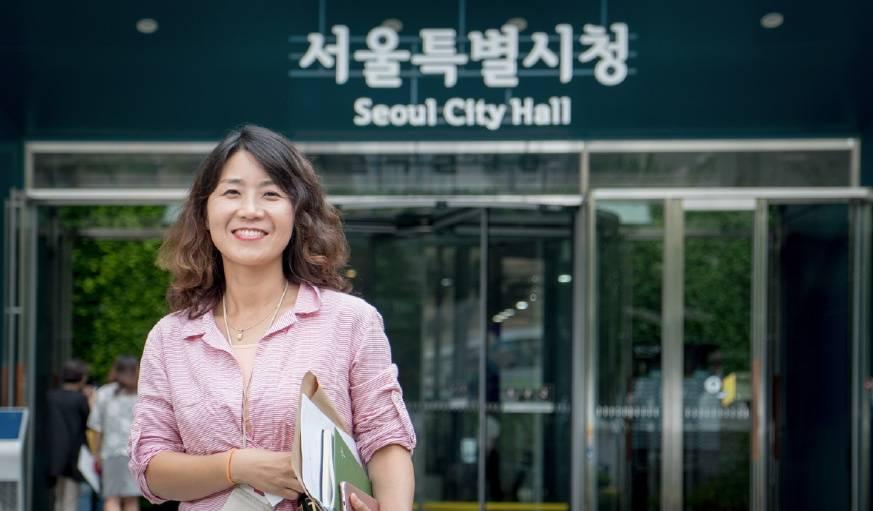 Seonae Kwon, adjointe au maire de Séoul.