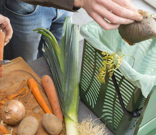 Épluchures, restes de table... Lorient collecte les biodéchets et montre l'exemple