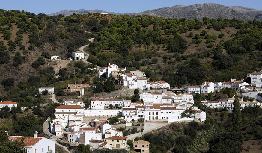 Le village de Juzcar avant sa transformation.