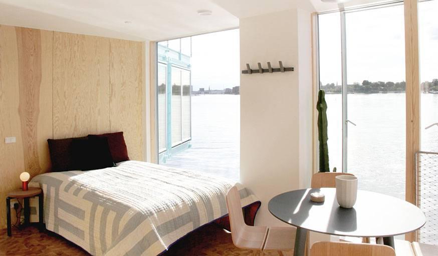 une r sidence tudiante en conteneurs sur l 39 eau vivre sur l 39 eau. Black Bedroom Furniture Sets. Home Design Ideas