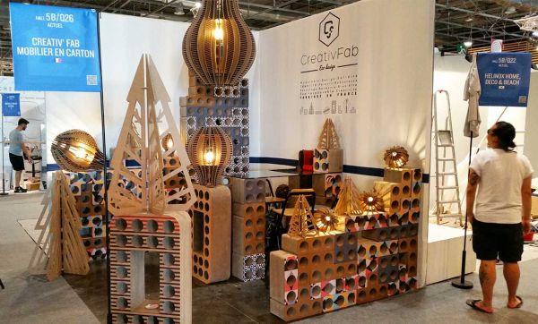 Ils créent des meubles en carton design et 100% made in France