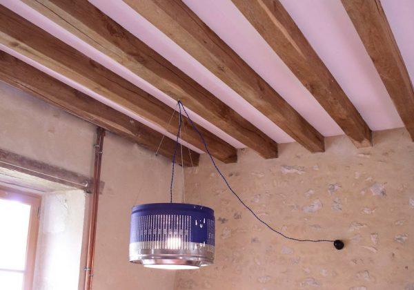 Diy Une Lampe Design Avec Un Tambour De Machine A Laver
