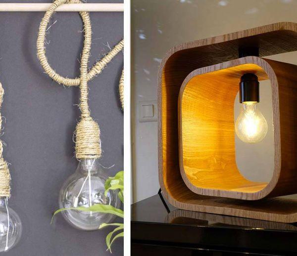 9 tutos faciles pour fabriquer une lampe à son goût