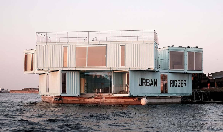 Cette résidence étudiante flotte sur la mer