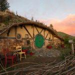 Une maison de Hobbit construite dans l'Etat de Washington, aux Etats-Unis.