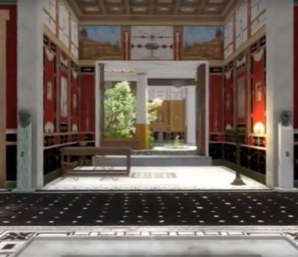 Visitez une maison romaine en 3D
