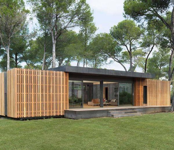 Cette maison passive se construit en 15 jours