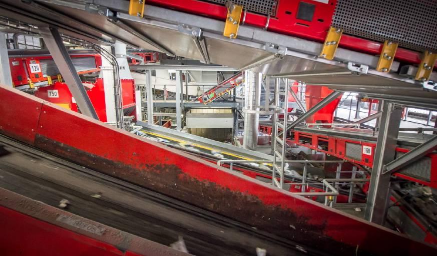 Le centre de tri havrais a dû se moderniser afin de pouvoir se lancer dans le tri global des emballages.
