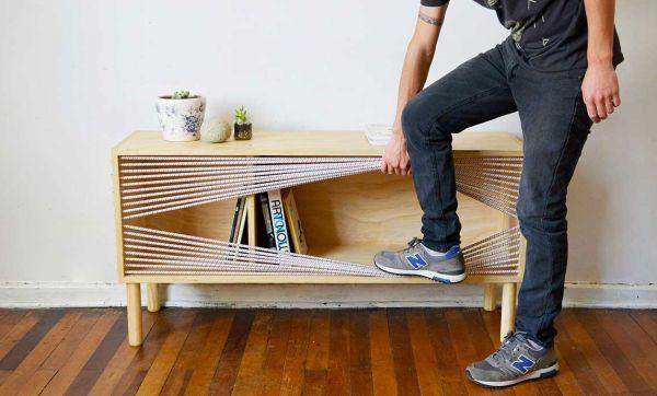 Ce meuble se prend pour un ring de boxe
