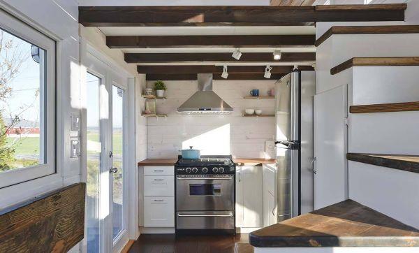 Une tiny house avec tout le confort d'une vraie maison