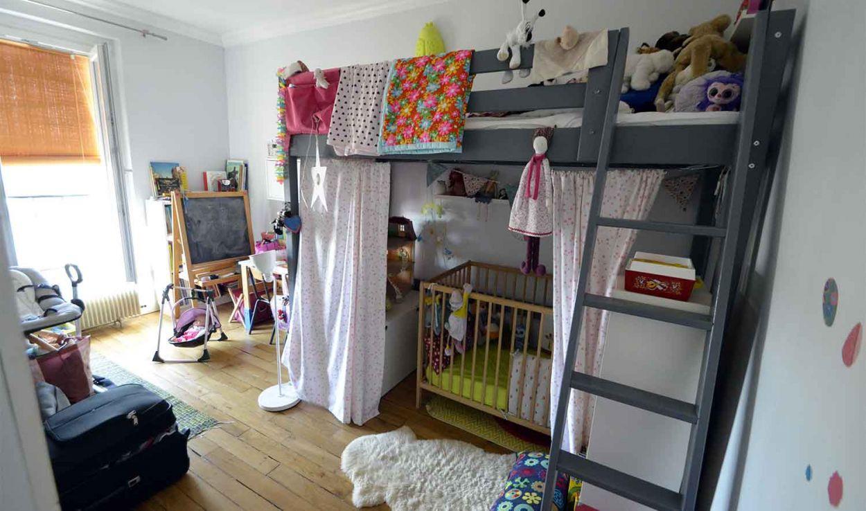 Une pi ce en plus ajouter une chambre d enfant 3 solutions pour une chambre en plus - Amenagement chambre 2 enfants ...