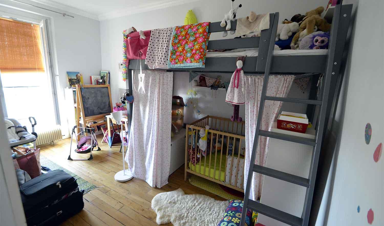 Une pi ce en plus ajouter une chambre d enfant 3 - Chambre pour 2 enfants ...