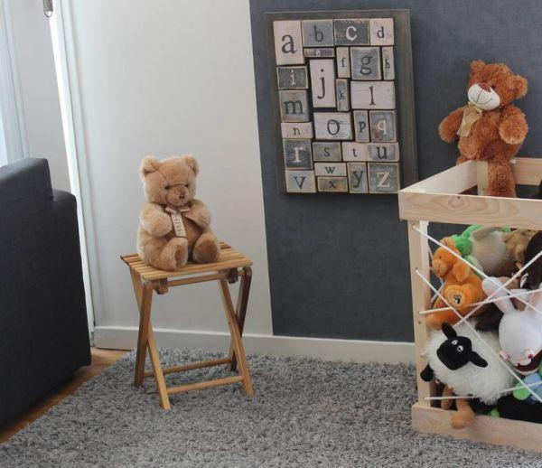 DIY : Fabriquez un range-peluches très pratique pour votre enfant