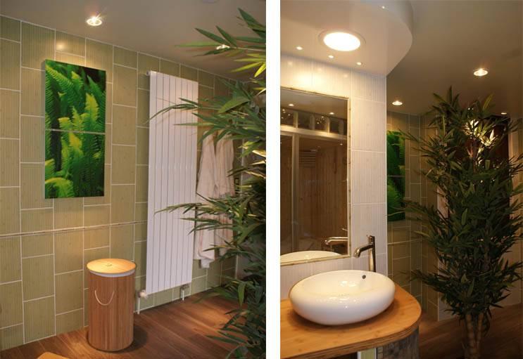 Avant Apres Salle De Bains Zen Et Deco Tropicale Refaire